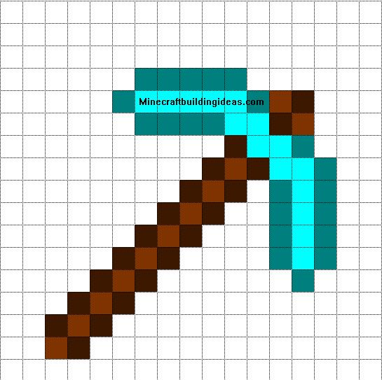 Pickaxe pixelart
